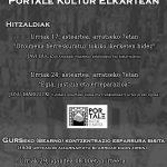 Memoria historikoaren jardunaldiak Portale Kultur Elkartean