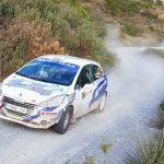 Aritz Iriondo pilotua 'Rallye Costa Tropical' lasterketan garaile