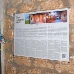 Santa Engrazia ermitan panel informatiboa kokatu dute