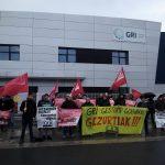 Negoziazio duina aldarrikatzeko protesta egin du LABek GRI CASTINGS enpresan
