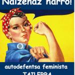 Bertan behera gelditu da hilaren 24ko autodefentsa feminista tailerra