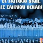 """""""Europar Batasuna: ez zaitugu nahi, ez zaitugu behar"""" txostenaren aurkezpena Gaztetxean"""