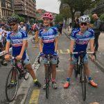Heiko  Mateos  eta  Aritz  Eizagirre  arroarrak  Txirrindularien  Euskadiko  Txapelketan
