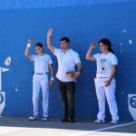 Naroa Agirre eta Araitz Eizagirre arroarrak Emakume Master Cup txapelketako finalerdietarako txartelaren bila