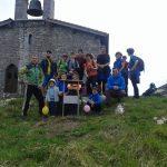 30 lagun inguru bildu dira Santa Engraziako egunean