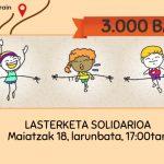 """Bargaztak talde feministak """"3.000"""" BAIETZ!!!"""" ekimena sortu du Malen Etxearentzat dirua biltzeko"""