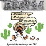 Mariatxi doinuak entzungai ostiralean arkupetan