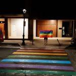 Herria koloreztatuta LGTBI+ kolektiboaren harrotasunaren aldeko egunean