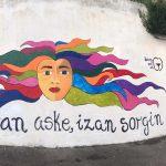 [BIDEOA] Gurea Kultura ekimenaren baitan antolatutako mural margoketa