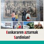 'Euskararen aztarnak Sardinian?' liburuaren aurkezpena eta hitzaldia bihar arratsaldean, Portalen