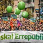 Euskal errepublikaren aldeko manifestaziora joateko autobusa antolatu dute
