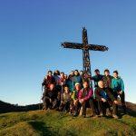 20 lagunek hartu dute parte Agiro Mendi Klubak antolatutako Zestoa-Elgoibar ibilaldian