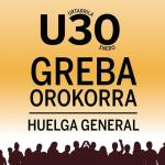 U30eko greba batzordeak argazki herritarra aterako du ostiral honetan