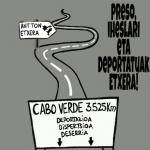 Euskal preso, iheslarien eta deportatuen aldeko kontzentrazioa izango da bihar