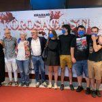 'Korosagasti' filma aurrestreinatu zuten atzo, Azpeitian