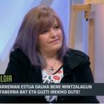 [TTAK!] Marija Louvricek ETB1eko Biba Zuek saioan hartu du parte