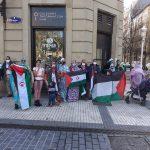 Sahara libre baten aldeko aldarriak entzun dira Donostian, Bilbon eta Gasteizen