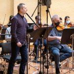 Garikoitz Mendizabal Euskadiko Orkestrarekin 'Gutizia' izeneko diskoa grabatzen ari da