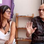 Xanti Ugarte eta Silvia Carrizo 'Etxe barrutik argitara' erreportajean
