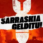 Gazte asanbladak, EH Bilduk, Udalak eta Kontseilu Sozialistak bat egin dute Palestinaren aldeko elkarretaratzearekin