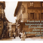 Frankistek indarrez kanporatutako Errepublika garaiko azken udal ordezkariak omenduko dituzte igandean