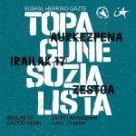 Gazte Topagune Sozialistaren aurkezpena, ostiralean, Gaztetxean
